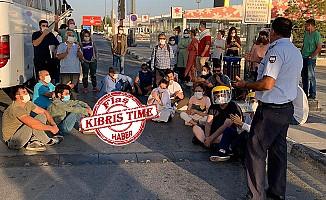 Ercan'da büyük kaos!