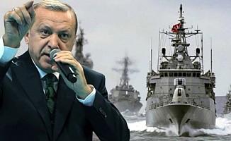 Erdoğan savaş gemilerine talimat verdi!
