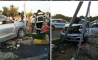 Girne Çevre Yolu'nda trafik kazası: 9 yaralı