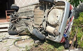 Karşıyaka'da korkutan kaza...