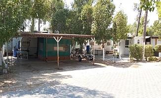 Salamis Kamping tesisi mühürlendi