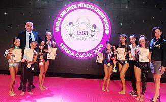 KKTC Çocuk Fitness Milli Takımı tarih yazdı!