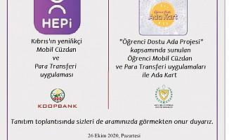 Koop-Bank Pazartesi günü Ada Kart uygulamasının tanıtımını yapacak