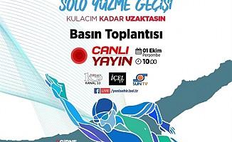 Milli yüzücü Emre Seven Türkiye'den KKTC'ye yüzecek