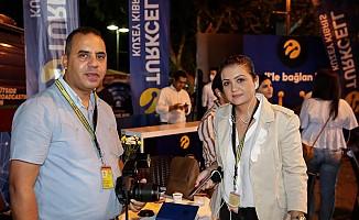 Seçim sonuçları anlık olarak  Turkcell Teknoloji Alanı'nda takip edildi