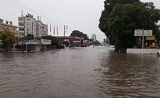 Gazimağusa'da metrekareye 85 kilogram yağış düştü