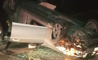 Gemikonağı'nda kaza! 2 kişi yaralandı...