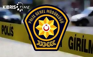 Girne'de iş kazası...