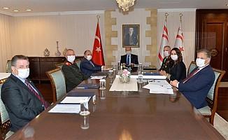 Üst koordinasyon kurulu toplandı