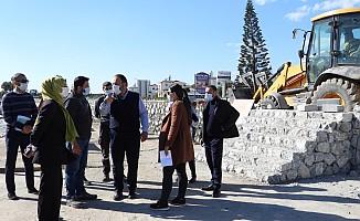 Başkan Sadıkoğlu projeleri yerinde izledi