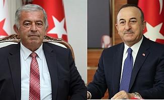 Çavuşoğlu, Meclis Başkanı Sennaroğlu'nu kutladı