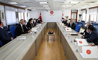 TBMM Dışişleri Komisyonu üyeleri ile toplantı...
