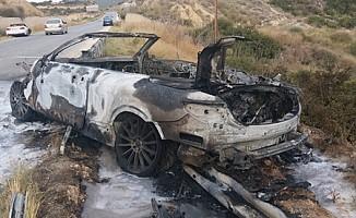 Girne - Tatlısu Anayolu üzerinde  trafik kazası!
