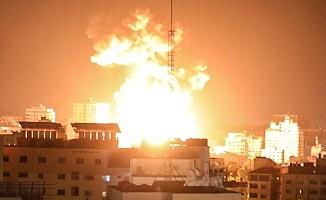 İsrail'in Gazze'ye yönelik saldırıları 8. gününe girdi