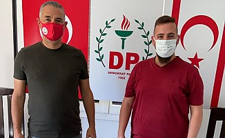 Kıranoğlu, DP Lefkoşa İlçesi Başkan yardımcısı oldu