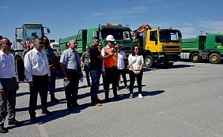 Alayköy Organize sanayi Bölgesi'nde temizlik kampanyası başlatıldı