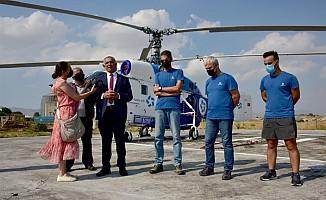 Türkiye, KKTC'ye yangın helikopteri gönderdi!