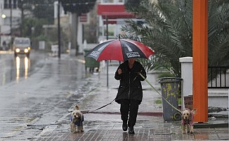 Yaz yağmuru etkili oldu…