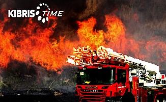 Redif Nurel'e ait 800 adet rulo balya yandı!