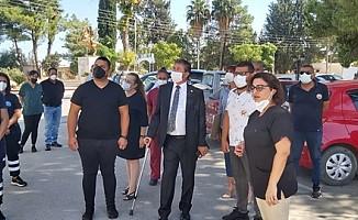 Akdoğan sağlık merkezi'nde antijen testleri yapılmaya başlandı