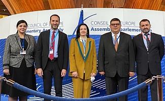 Meclis heyeti Strasbourg'da