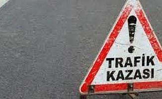 Türkeli çemberi ile Yılmazköy alt geçidi arasında kaza!