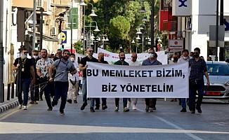 Bu memleket bizim platformu Lefkoşa'da eylem yaptı