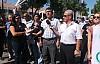 BAZI PARTİ, SENDİKA VE SİVİL TOPLUM ÖRGÜTLERİ TC ELÇİLİĞİNİN ÖNÜNDE PROTESTO EYLEMİ YAPTI