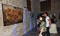 Ekinci'ni kişisel resim sergisi ziyarete açıldı