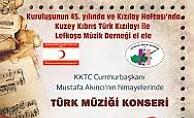 Türk Müziği Korosu konser verecek