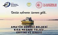 Amatör Denizcilik sınavları GAÜ'de yapılacak