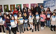 Kış dönemi çocuk atölyesi sergisi açıldı