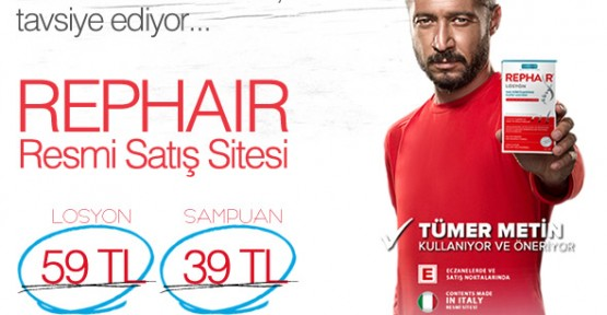 Tümer Metin Okay Karacan Rephair Losyon ve Şampuan Seti Kullanıyor!