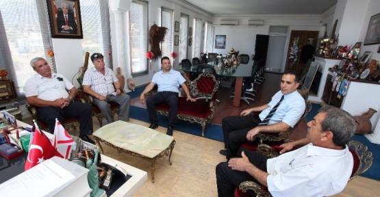 TÜRK BARIŞ KUVVETLERİ GAZİLER DERNEĞİ GAÜ'YÜ ZİYARET ETTİ