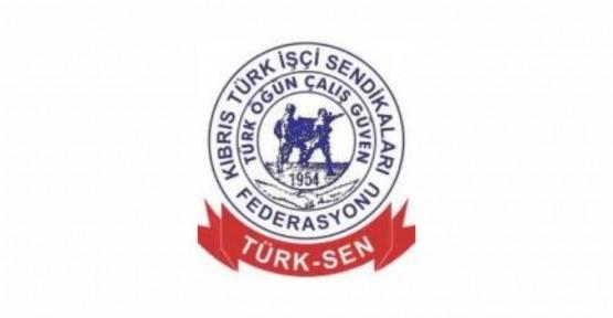 TÜRK-SEN AKINCI'YA DESTEK BELİRTTİ