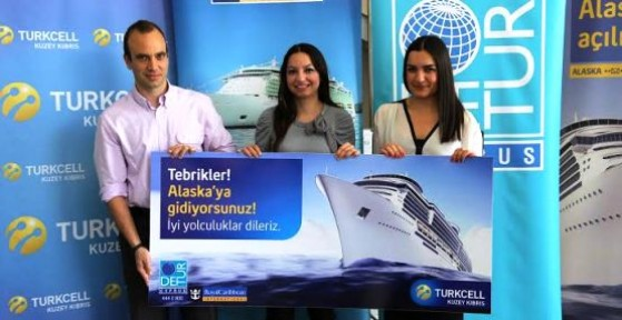 TURKCELL'LE ALASKA'YA GİDİYOR