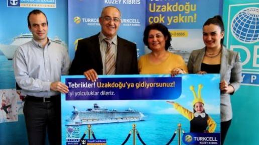 Turkcell'le Uzak Doğu'ya gidecek