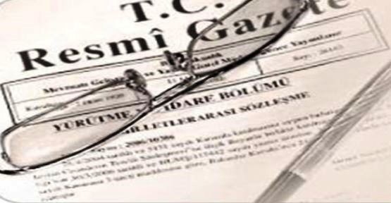 TÜRKİYE İLE KKTC'NİN İŞBİRLİĞİ RESMİ GAZETE'DE