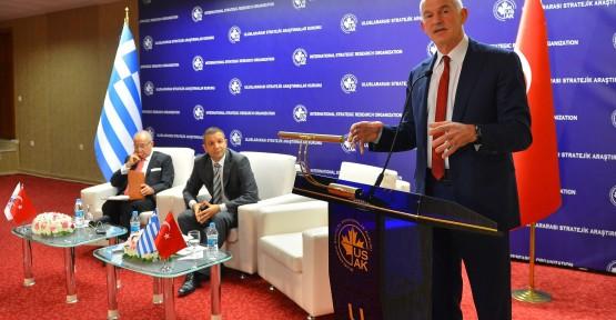 """""""TÜRKİYE VE KIBRIS: BÖLGESEL BARIŞ VE İSTİKRAR"""" KONFERANSI ANKARA'DA YAPILDI"""