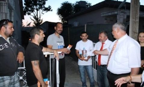 UBP ADAYI YAMAN DEMİRHAN'I ZİYARET ETTİ