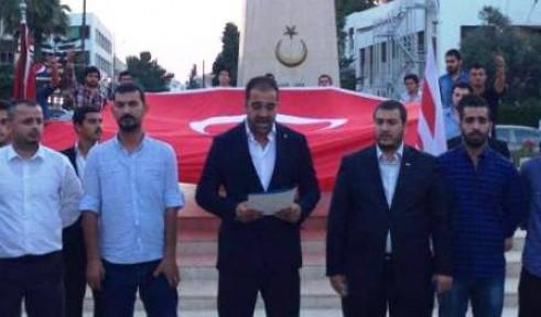ÜLKÜ OCAKLARI'NDAN PROTESTO