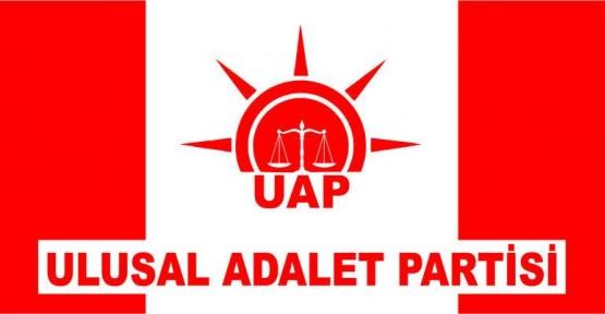 ULUSAL ADALET PARTİSİ GENEL MERKEZİ AÇILDI