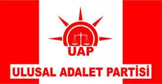 ULUSAL ADALET PARTİSİ MYK'SI BELİRLENDİ
