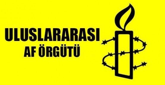 ULUSLARARASI AF ÖRGÜTÜ'NDEN İŞKENCE RAPORU