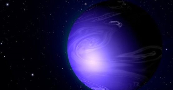 Uzayda mavi gezegen keşfedildi