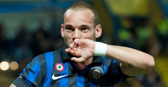 Ve Sneijder Galatasaray'da