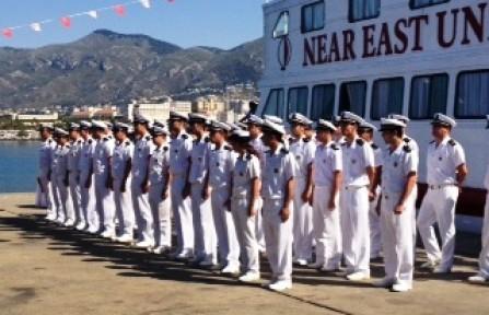 YDÜ Denizcilik Fakültesi mezunlarını verdi