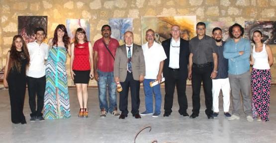 YDÜ GSTF Plastik Sanatlar Bölümü Öğrencilerinin Sergisi Açıldı