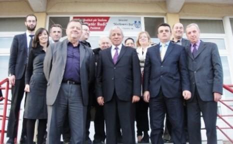 YÖDAK BAŞKANI HASAN ALİ BİÇAK KOSOVA'DA