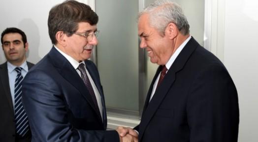 YORGANCIOĞLU, TC DIŞİŞLERİ BAKANI DAVUTOĞLU'NU KABUL ETTİ